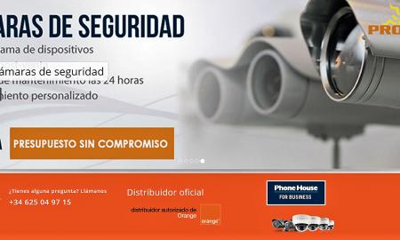 ESPAÑA SISTEMAS DE SEGURIDAD EN CACERES PROCATEL-ORANGE EMPRESAS