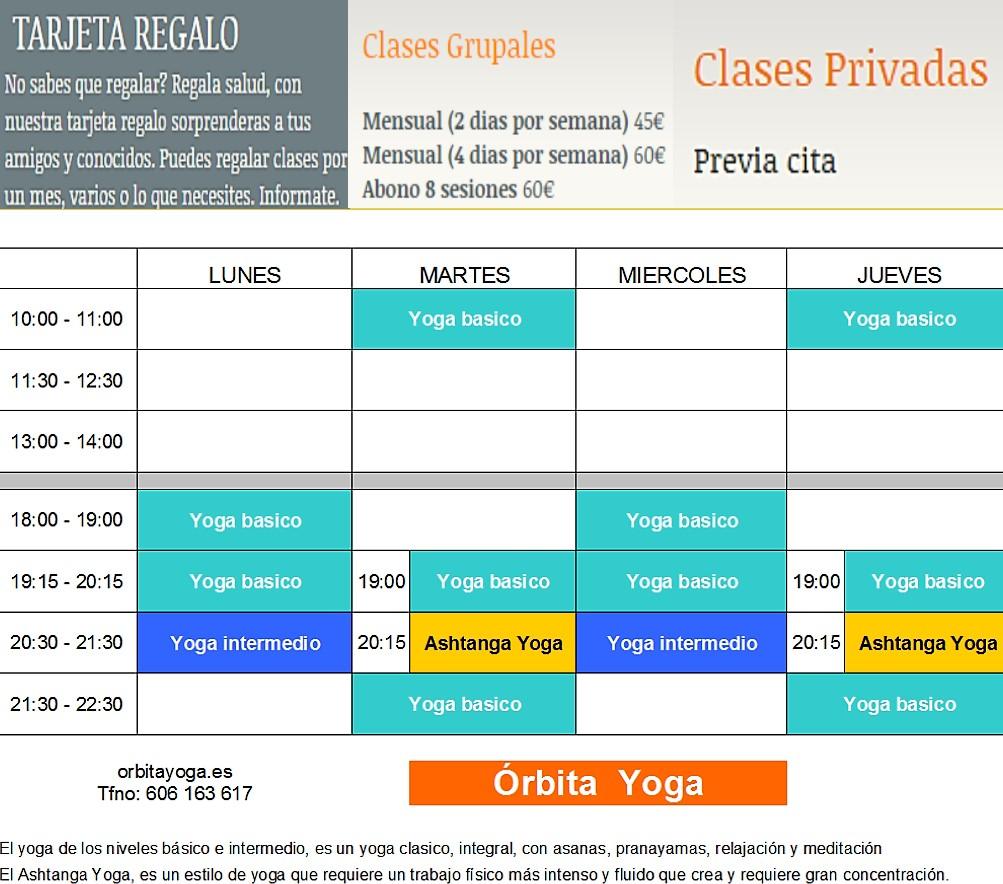 España Profesores de Yoga en Cáceres Órbita