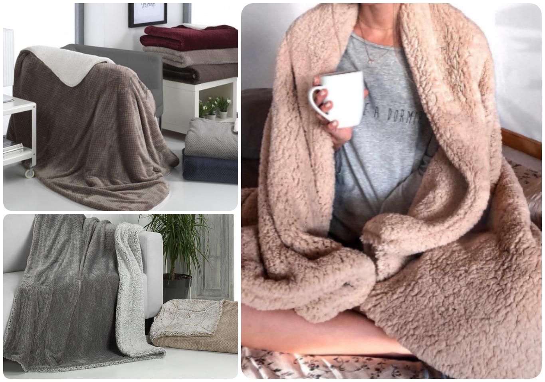 Retales telas mantas pijama ropa de hogar Miajadas Hipólito y Cándido