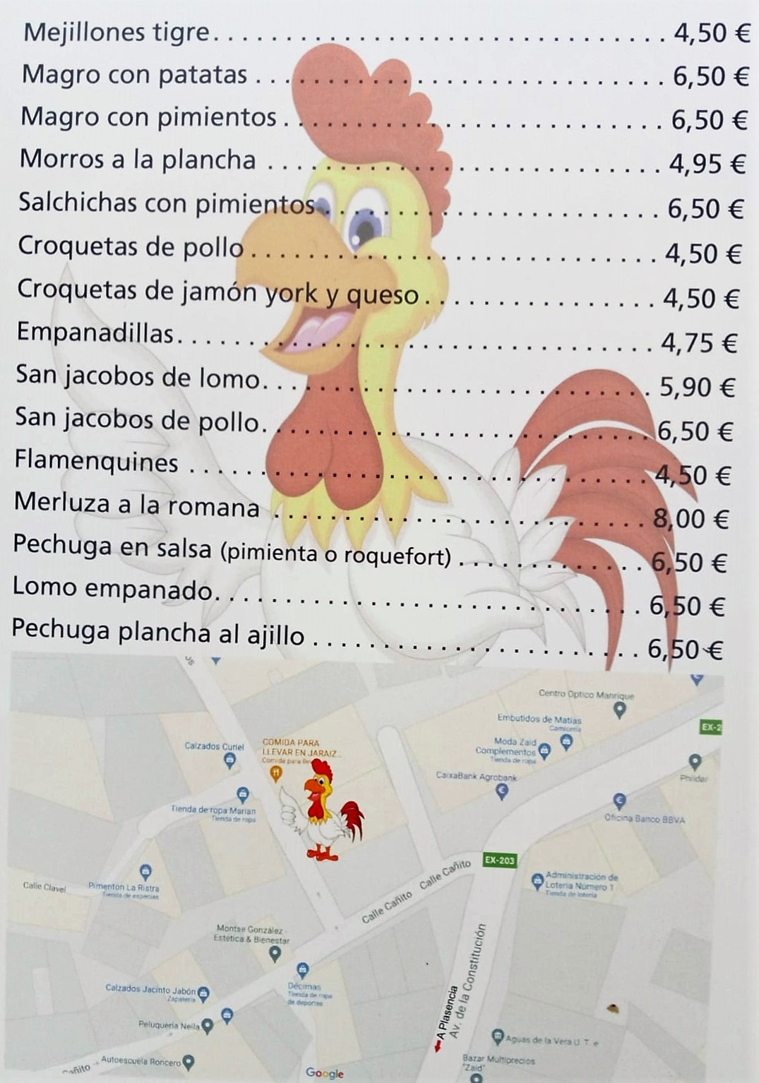 Asador de pollos en la Vera Jaraiz Pollos La vera