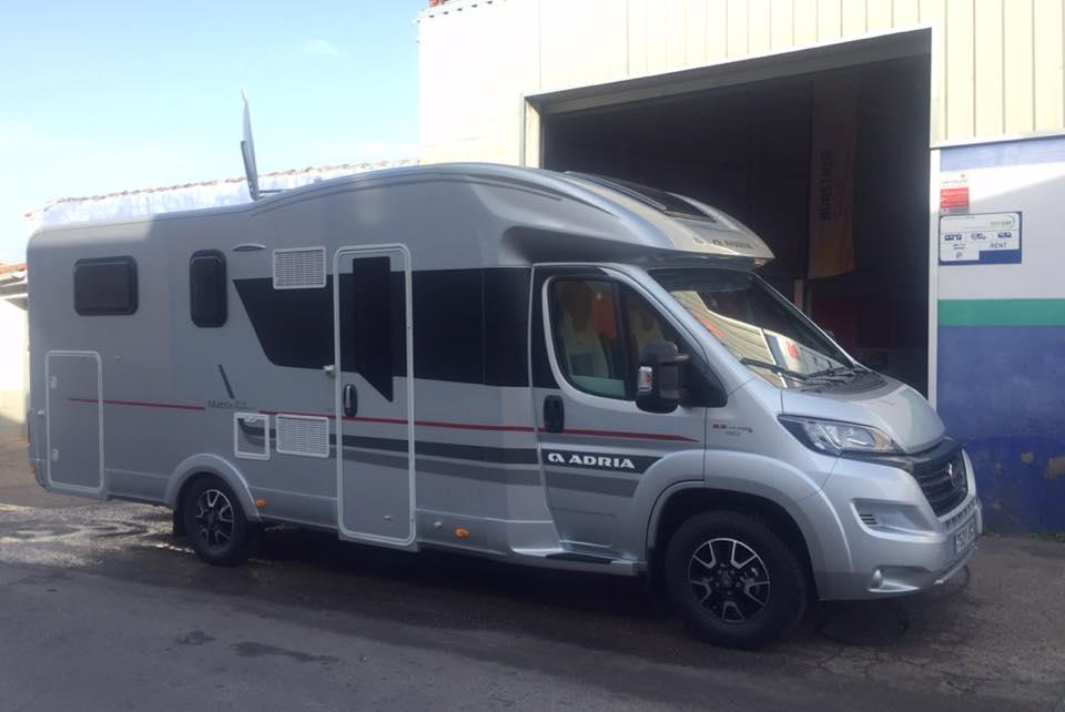 España Autocaravanas caravanas Cáceres venta reparación Carrero