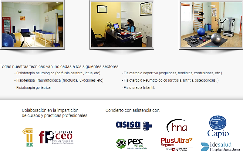 Centro de Fisioterapia Nueva ALTEA en Mérida