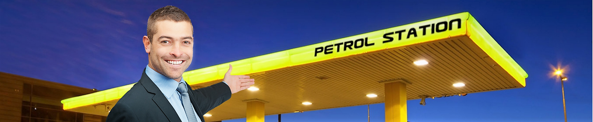 españa petrol station gasolinera