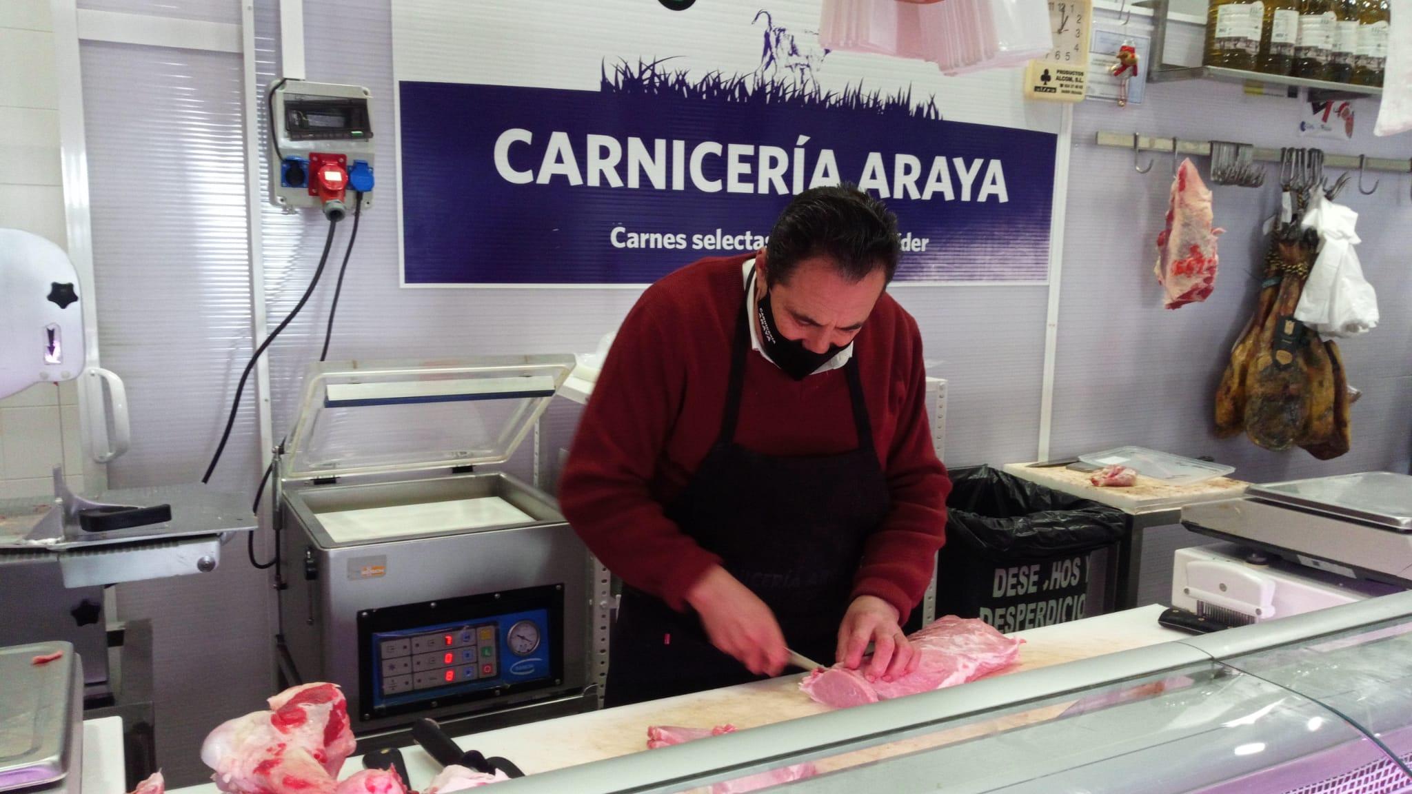 Carnicería Almendralejo Araya Plaza de Abastos