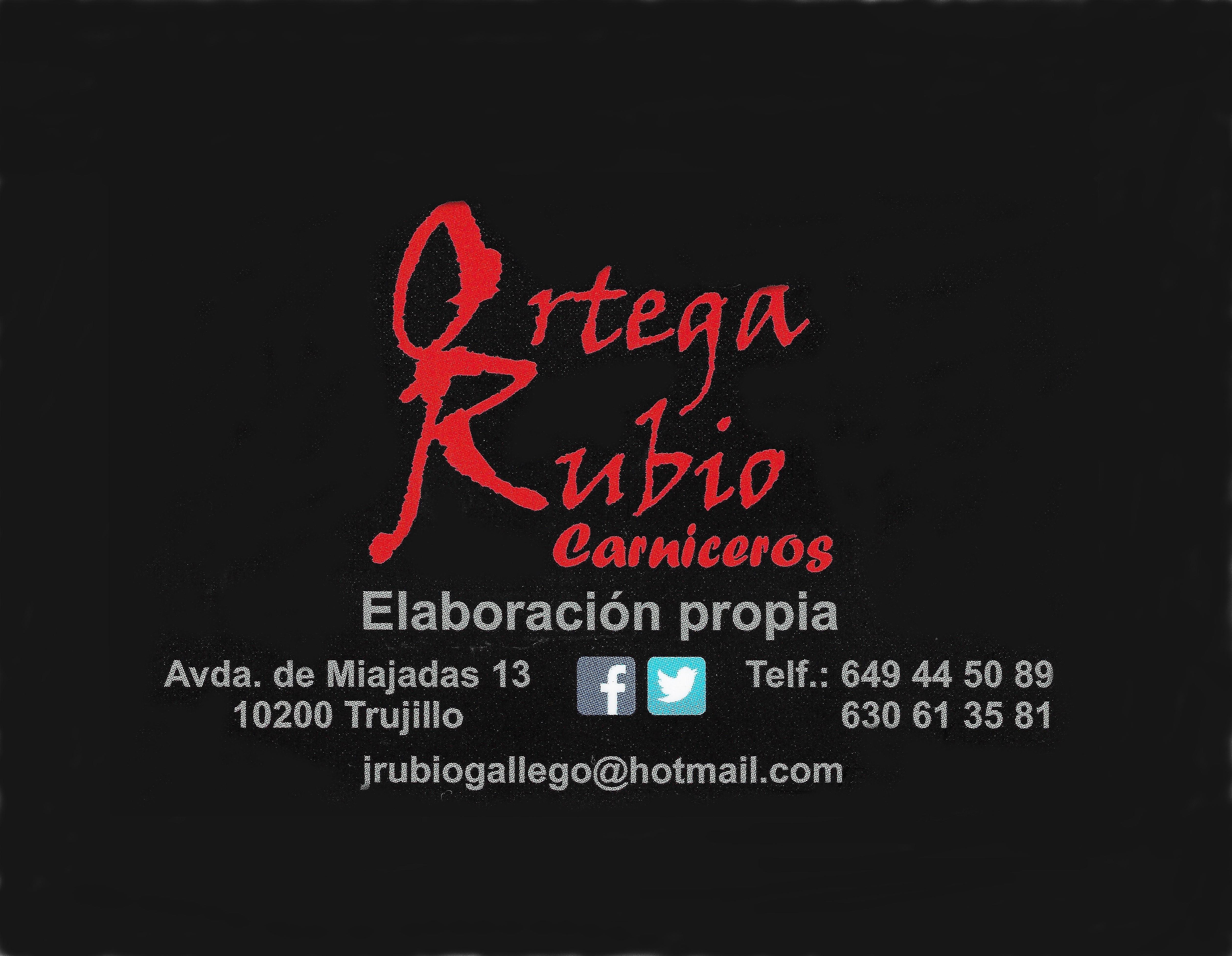 ESPAÑA CARNICERIA Y PRODUCTOS EXTREMEÑOS EN TRUJILLO ORTEGA RUBIO