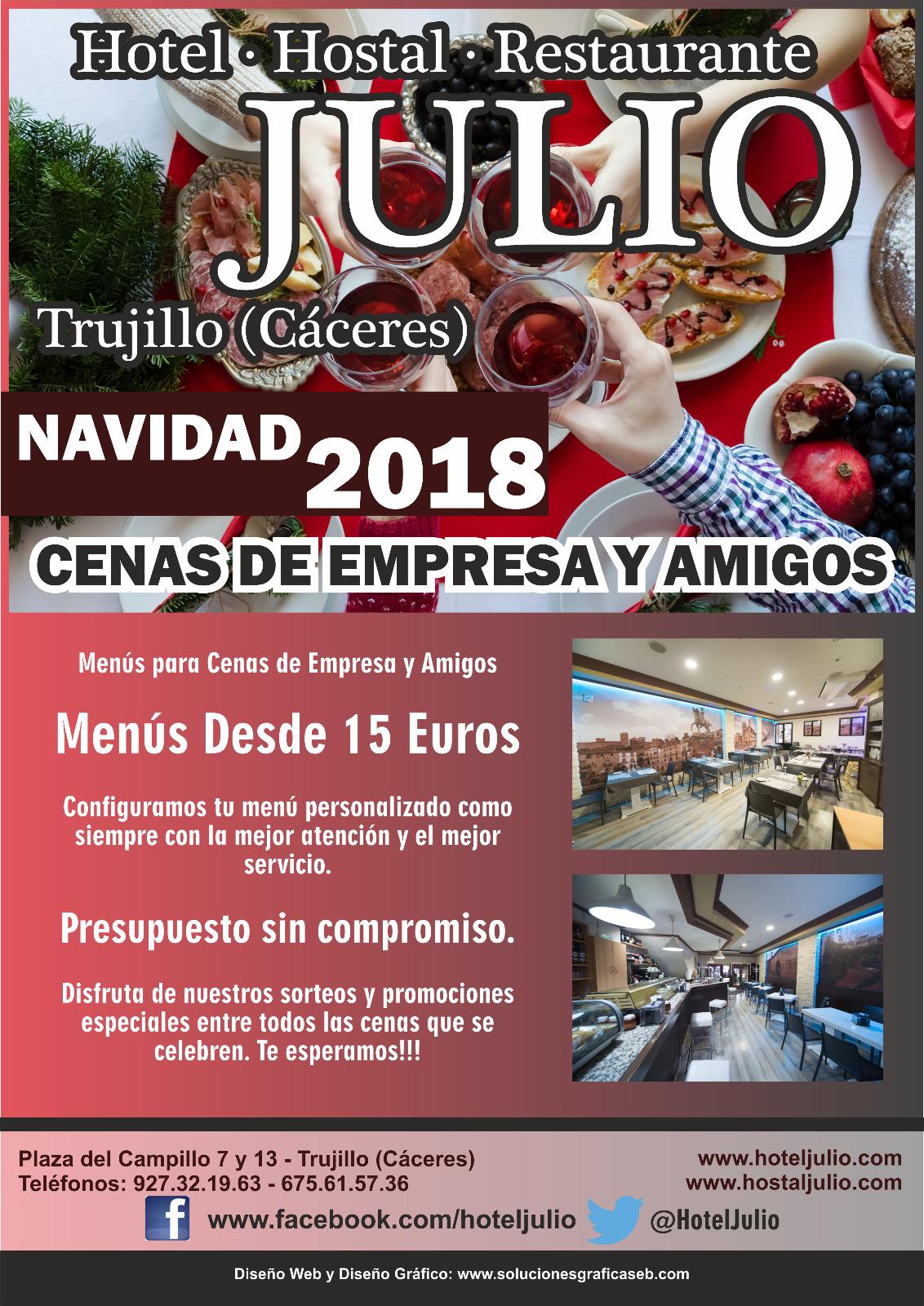 Cenas de empresa Trujillo Hostal Restaurante Julio