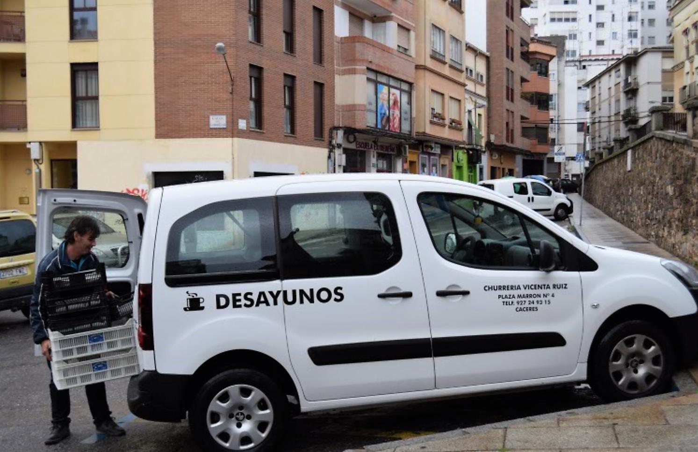 Churros en España Cáceres centro Vicenta Ruiz