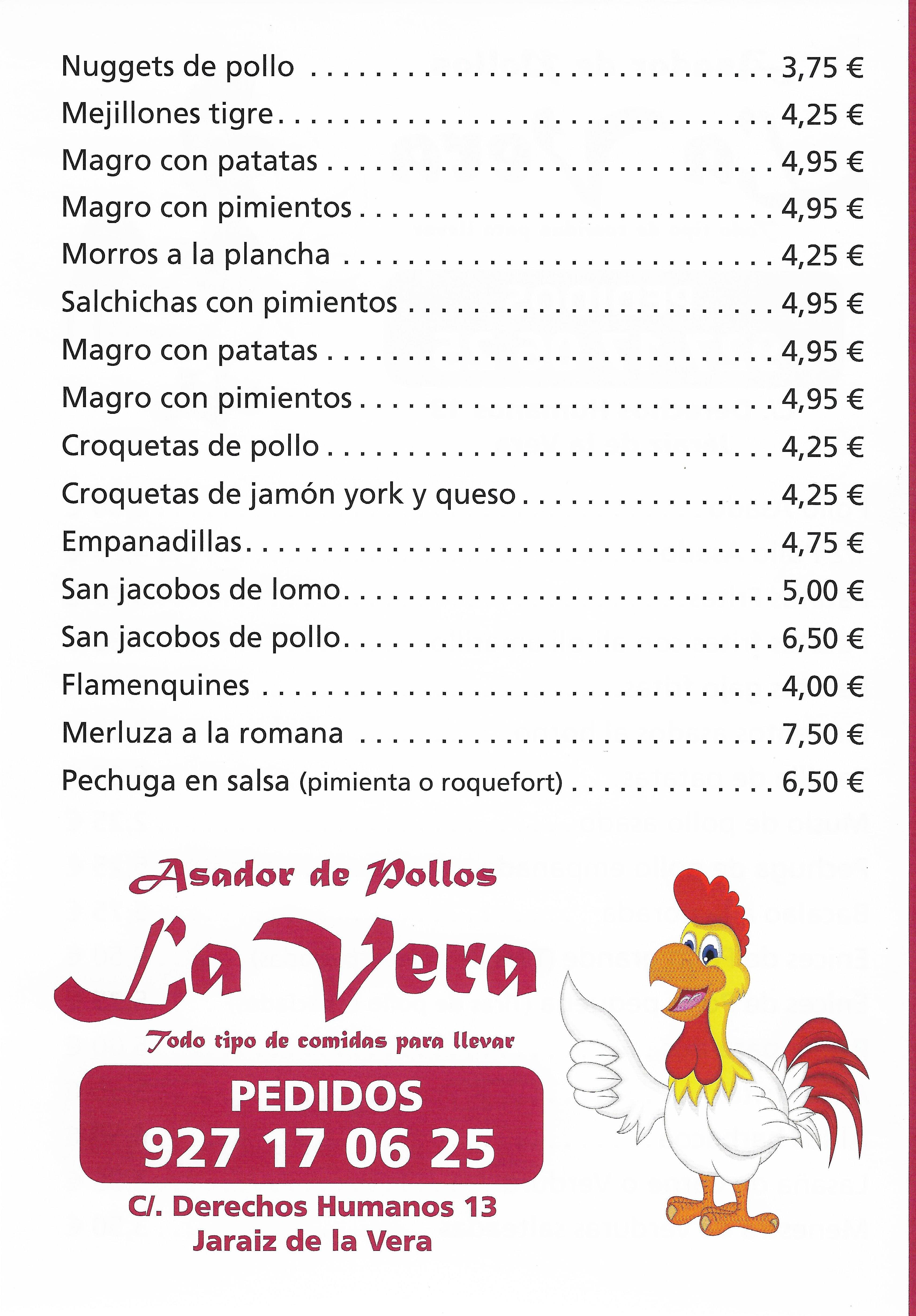 España Comida para llevar en la vera Pollos Vera Jaraiz
