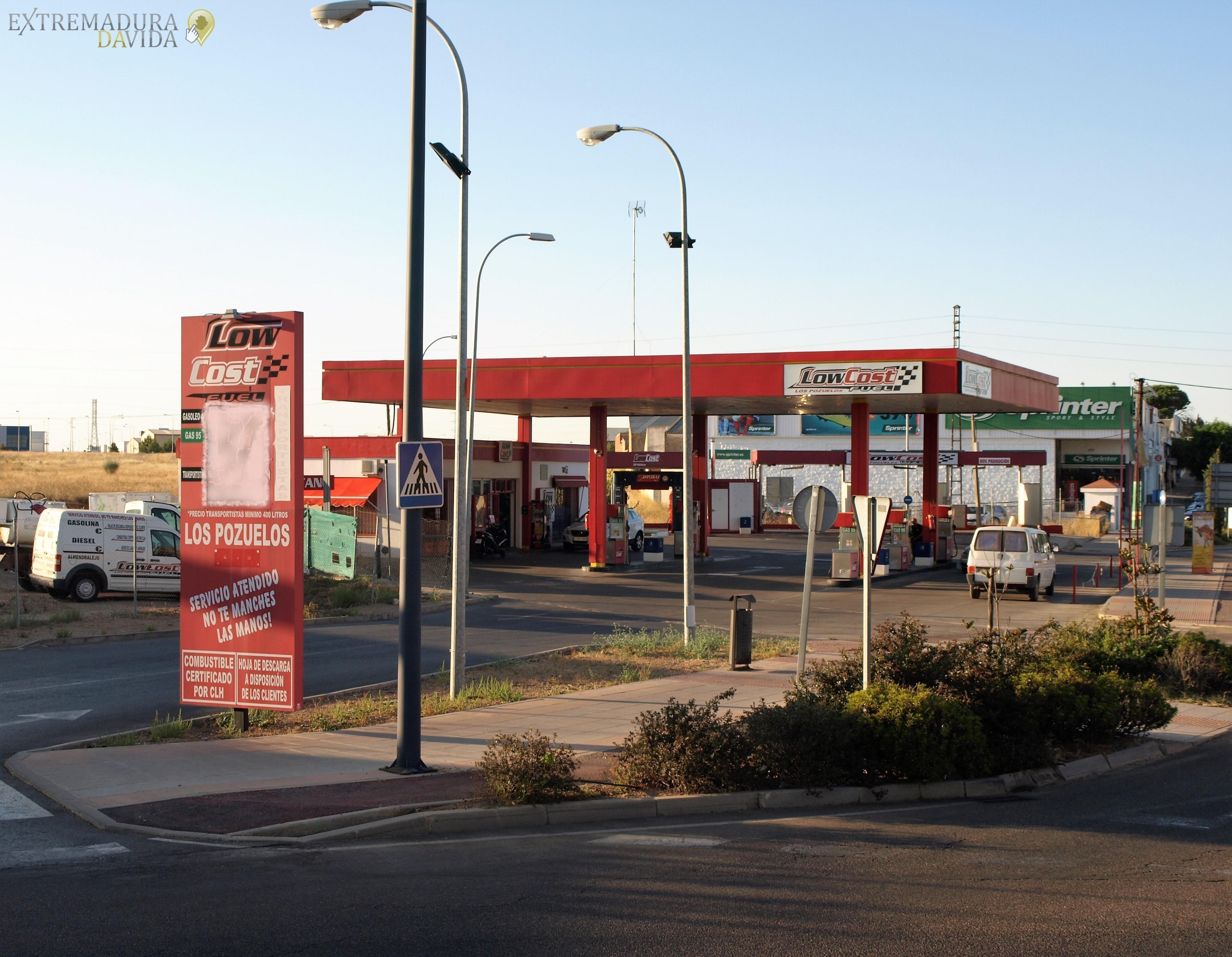 La estación de servicio gasolinera mas barata de Almendralejo Low Cost Fuel