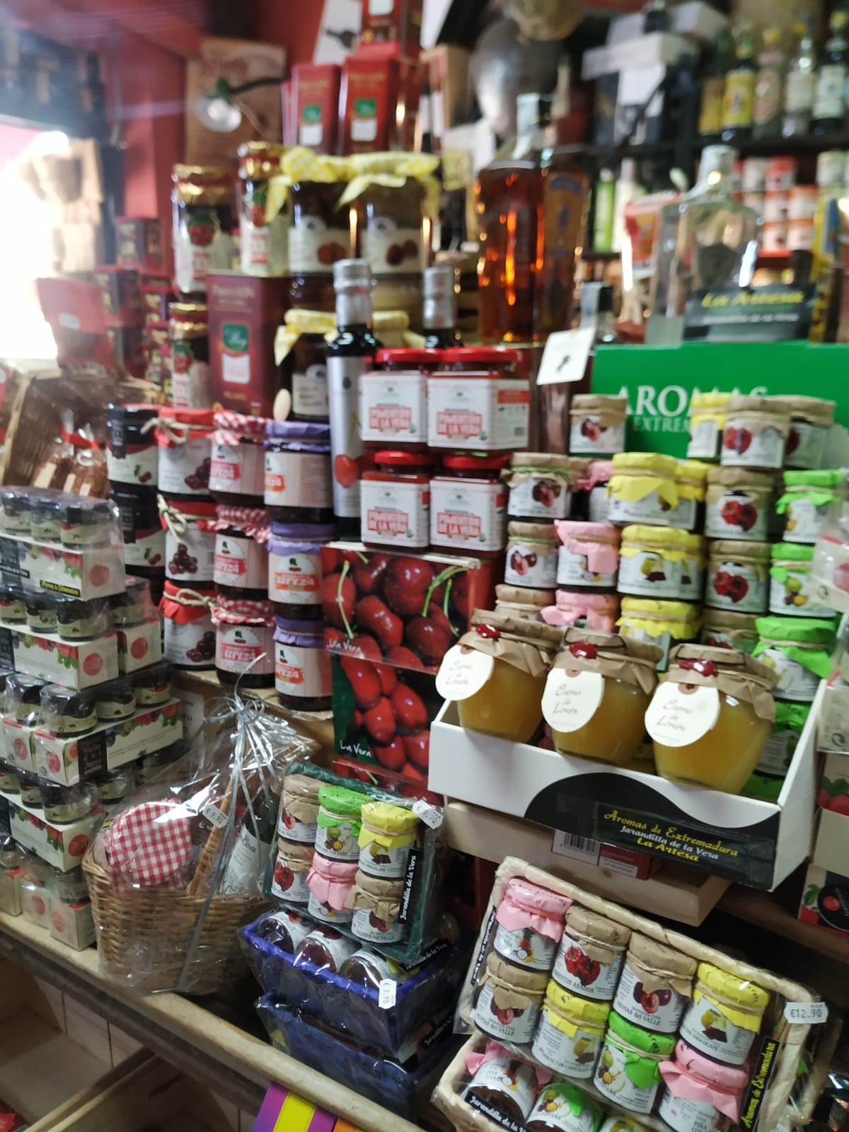 Mermeladas en la vera La Artesa Gourmet Jarandilla