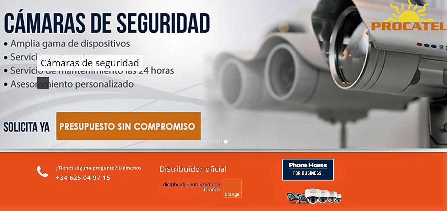 España Sistemas de alarmas en Cáceres Procatel