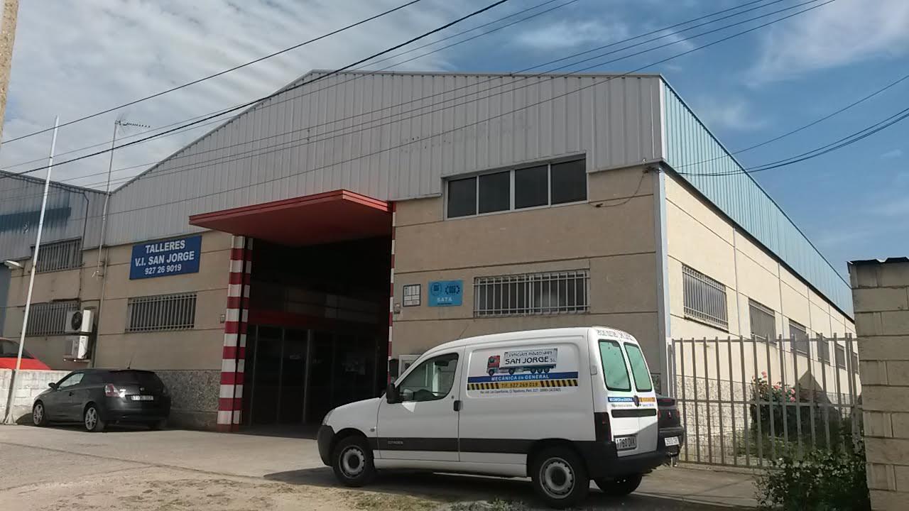 taller mecanica camiones Cáceres San Jorge
