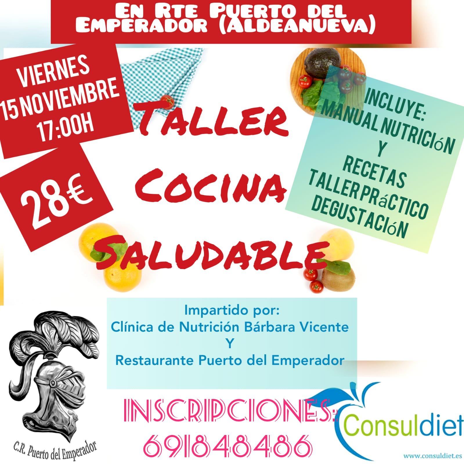 Cocina Saludable en la Vera Consuldiet