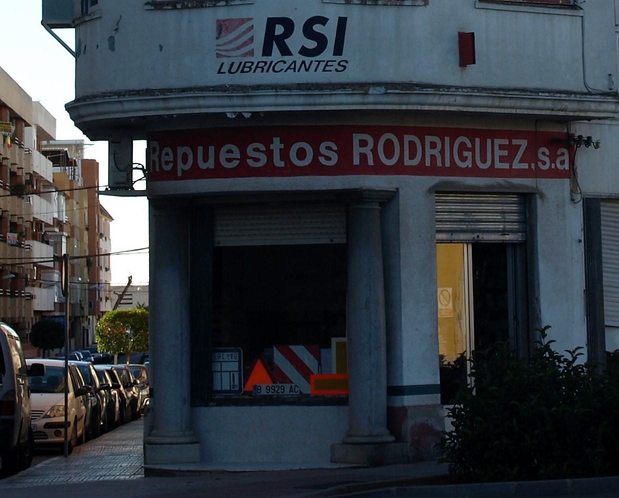 España - Repuestos en Almendralejo Rodriguez