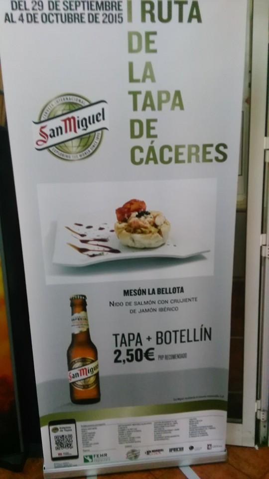 meson Cáceres La Bellota - Raciones