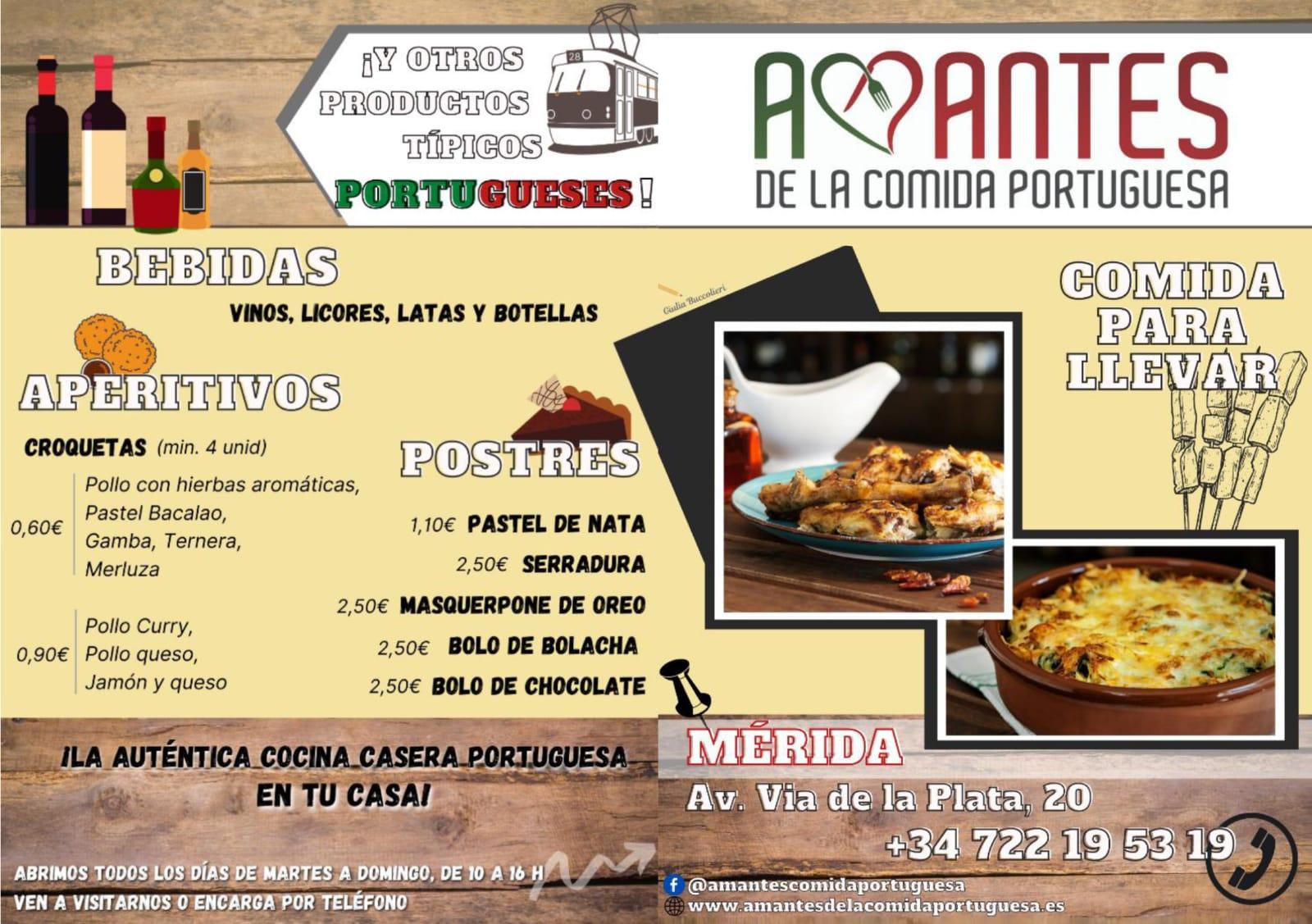 Comida casera a domicilio en Merida Amantes de la comida Portuguesa Pollos
