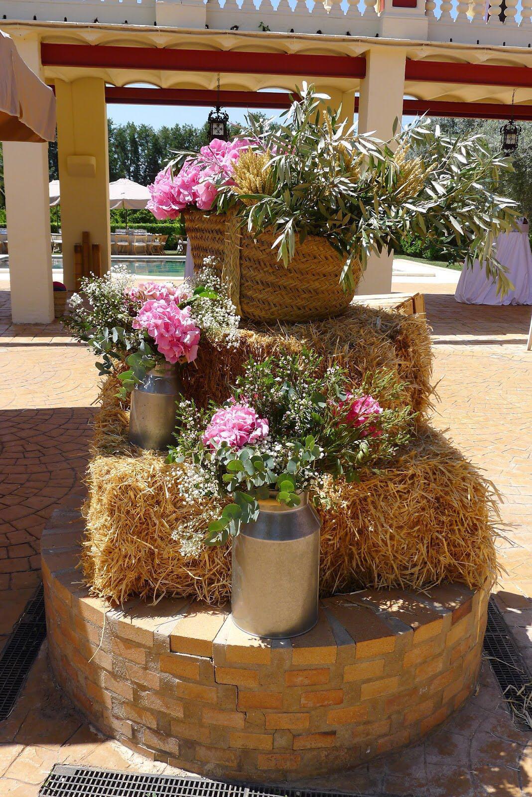 Decoración para Bodas en el Jerte La Casita de las Flores