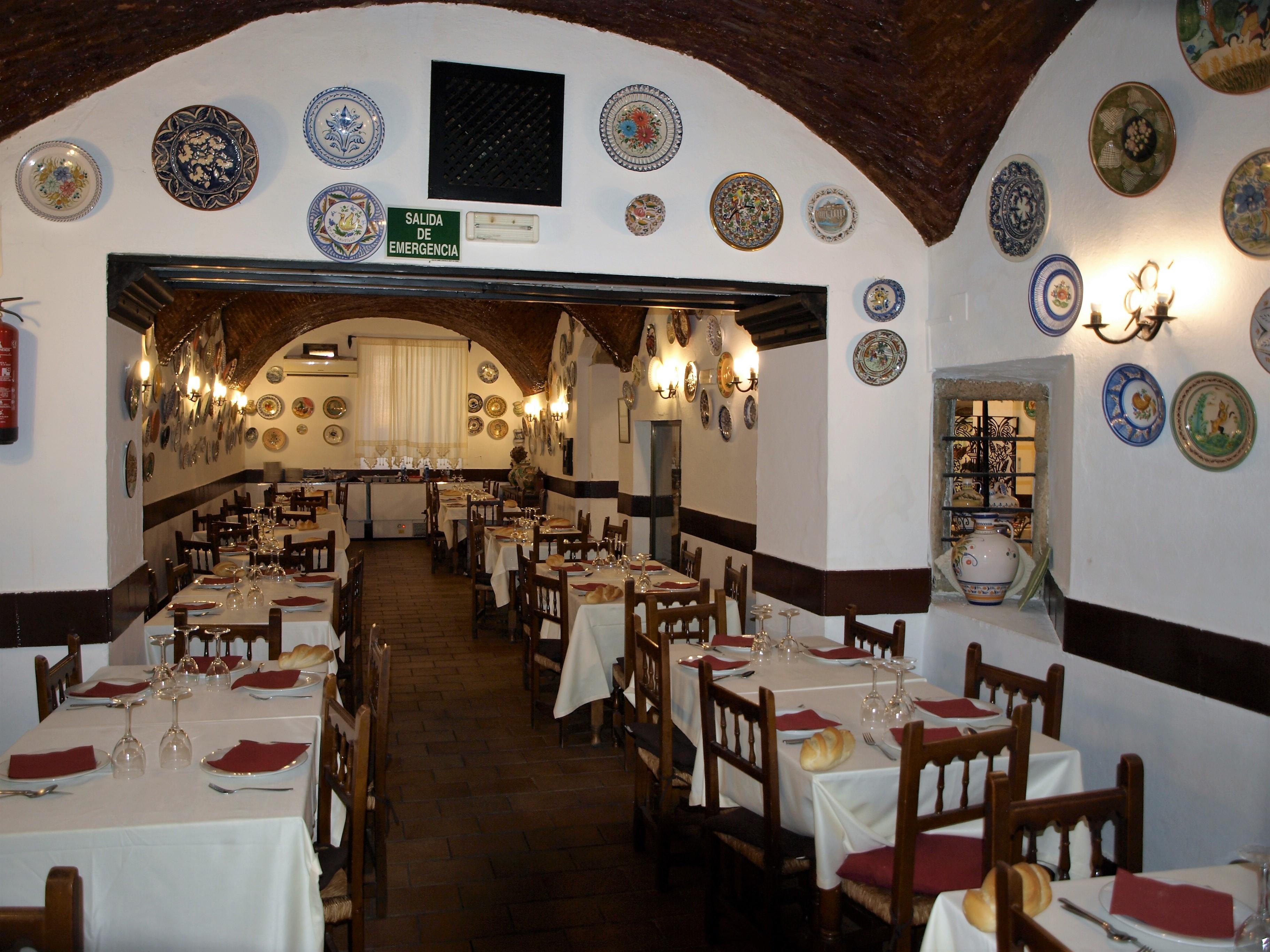 Restaurante en Trujillo La Troya sitio pintoresco