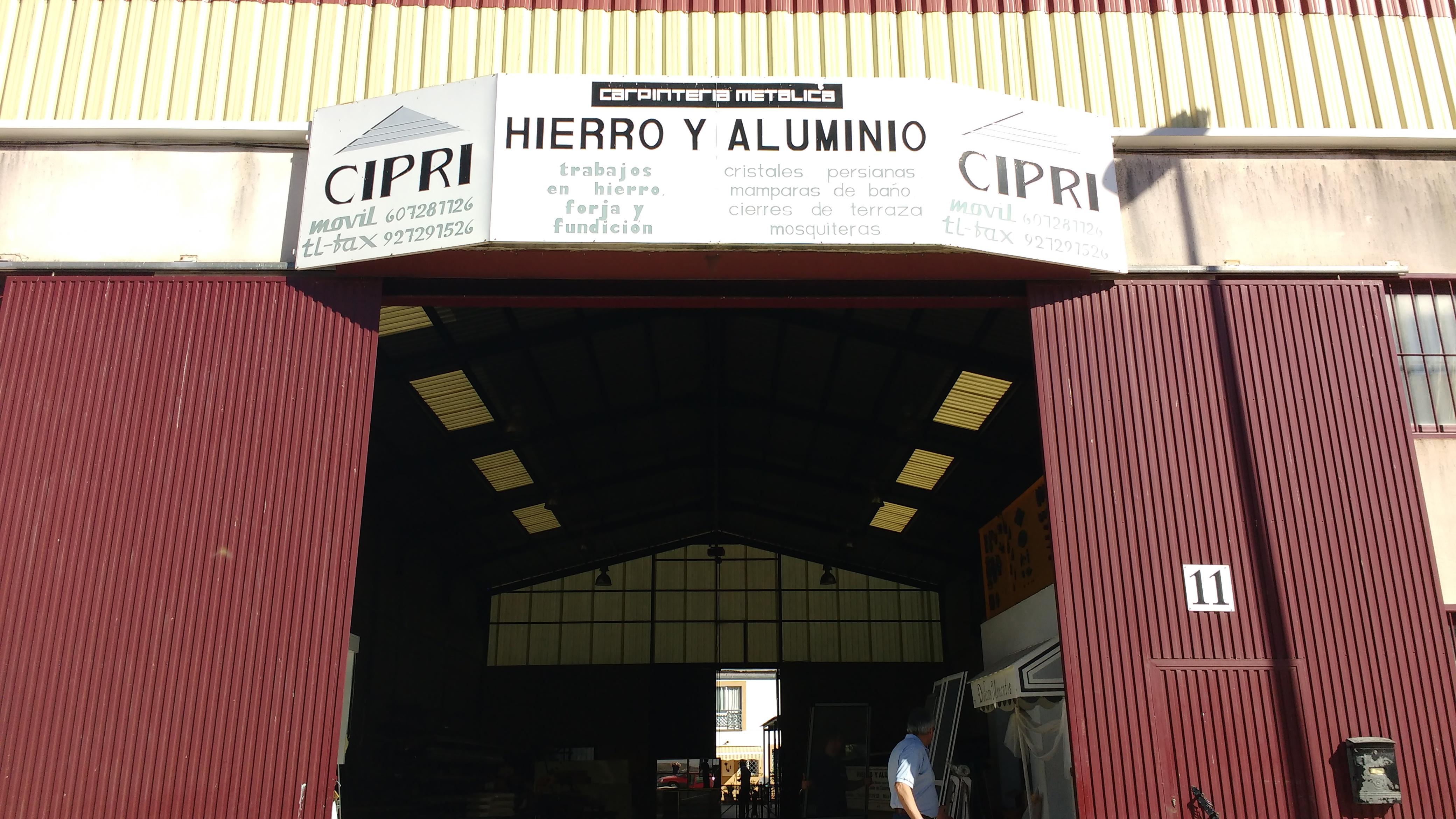 HIERROS Y ALUMINIOS EN EL CASAR DE CACERES CIPRI