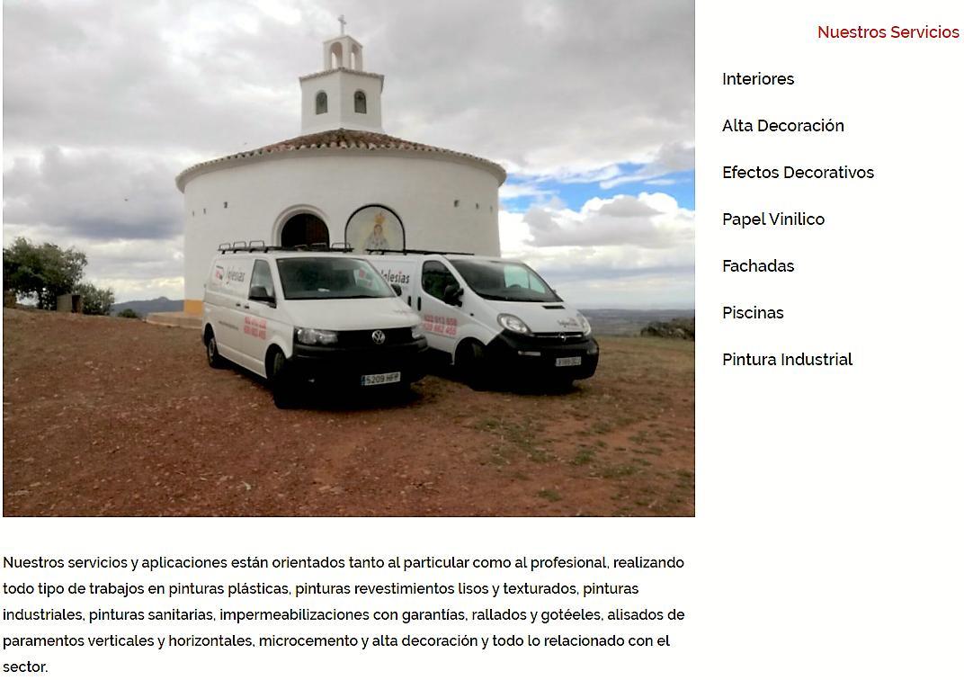 España Pintores en Cáceres Iglesias