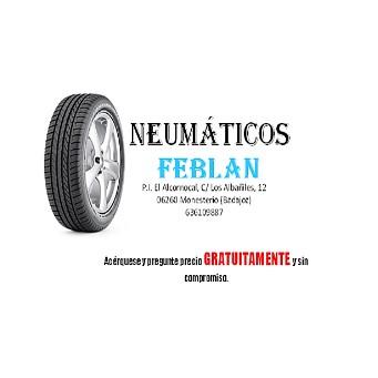 Taller de Ruedas Neumaticos Feblan en Monesterio junto a gasolinera