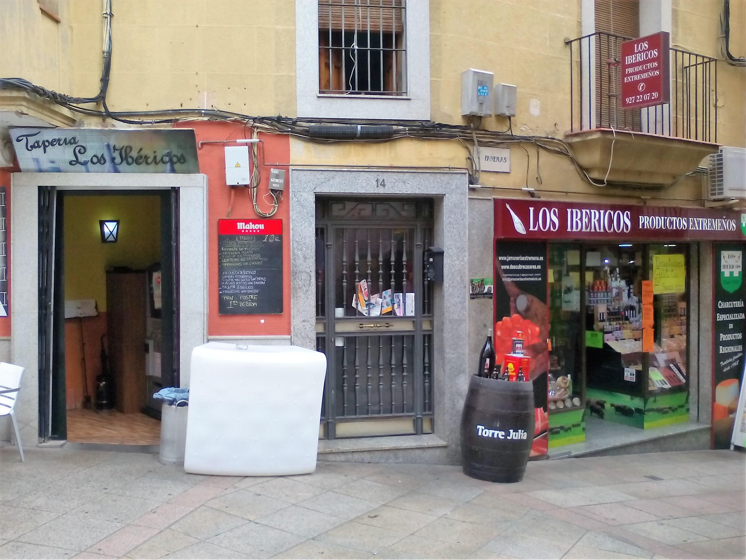 españa taperia restaurante en caceres los ibericos