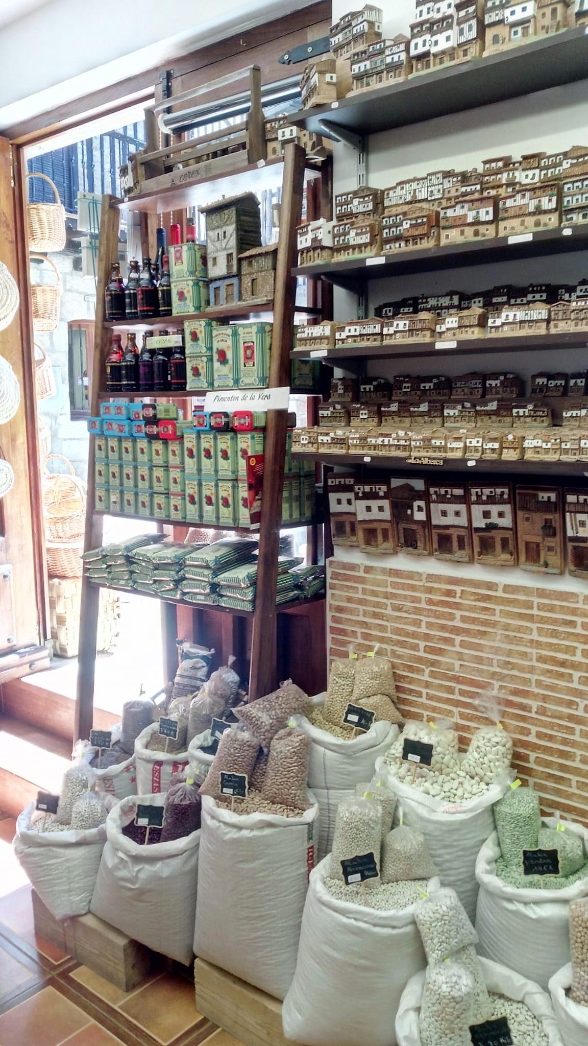 Tienda de Artesanía en la Alberca la Esquina de Animas