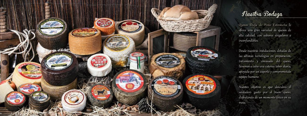 Distribuidor en España de quesos extremeños Pinto