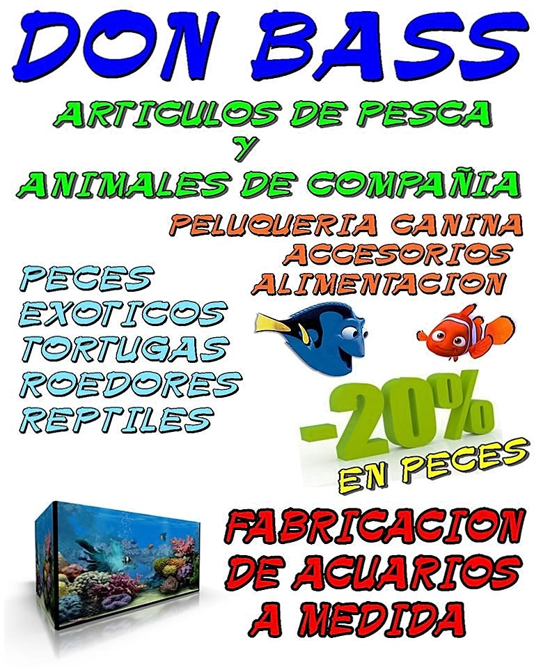 Tienda de animales en Don Benito Don Bass