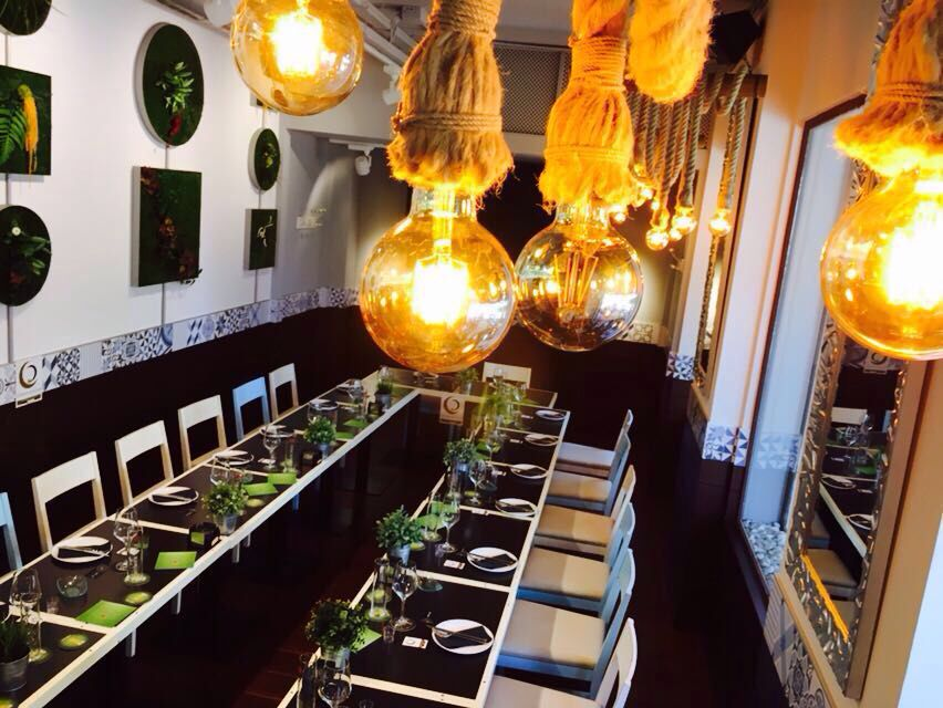 Gastrobar Restaurante Cáceres The Venue - Cocina de autor