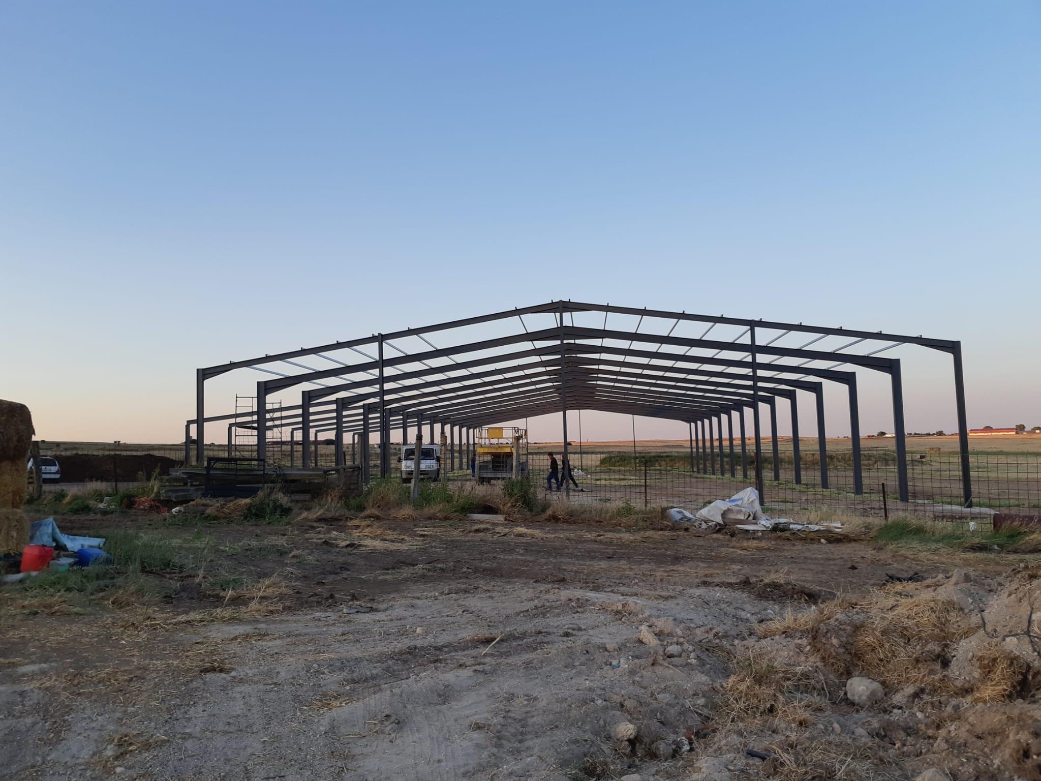 Fábrica de Estructuras en Cáceres Hermanos Rodríguez Arroyo de la Luz
