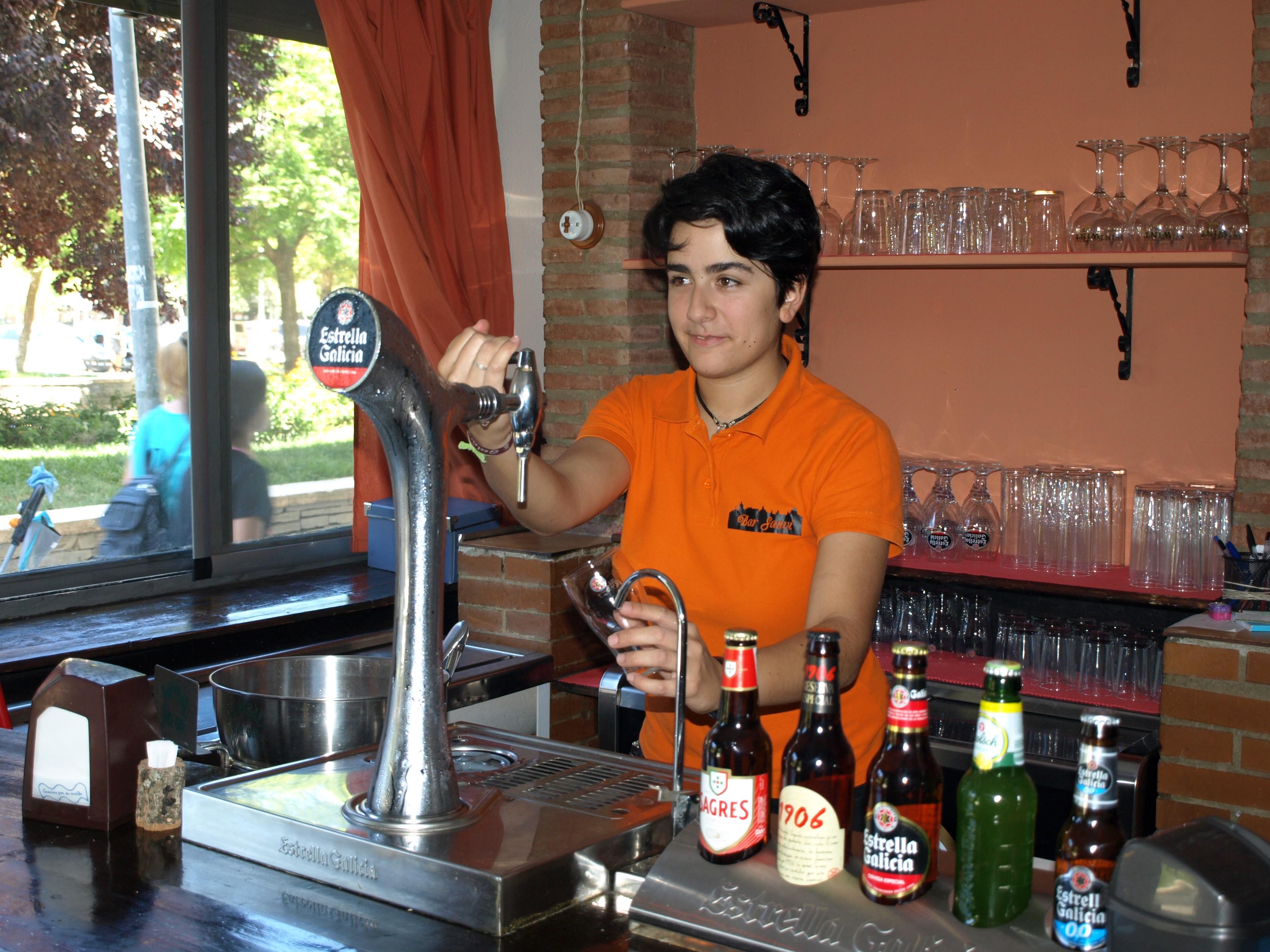España Tapería Bar Badajoz Sanvi, junto a la estación de autobuses