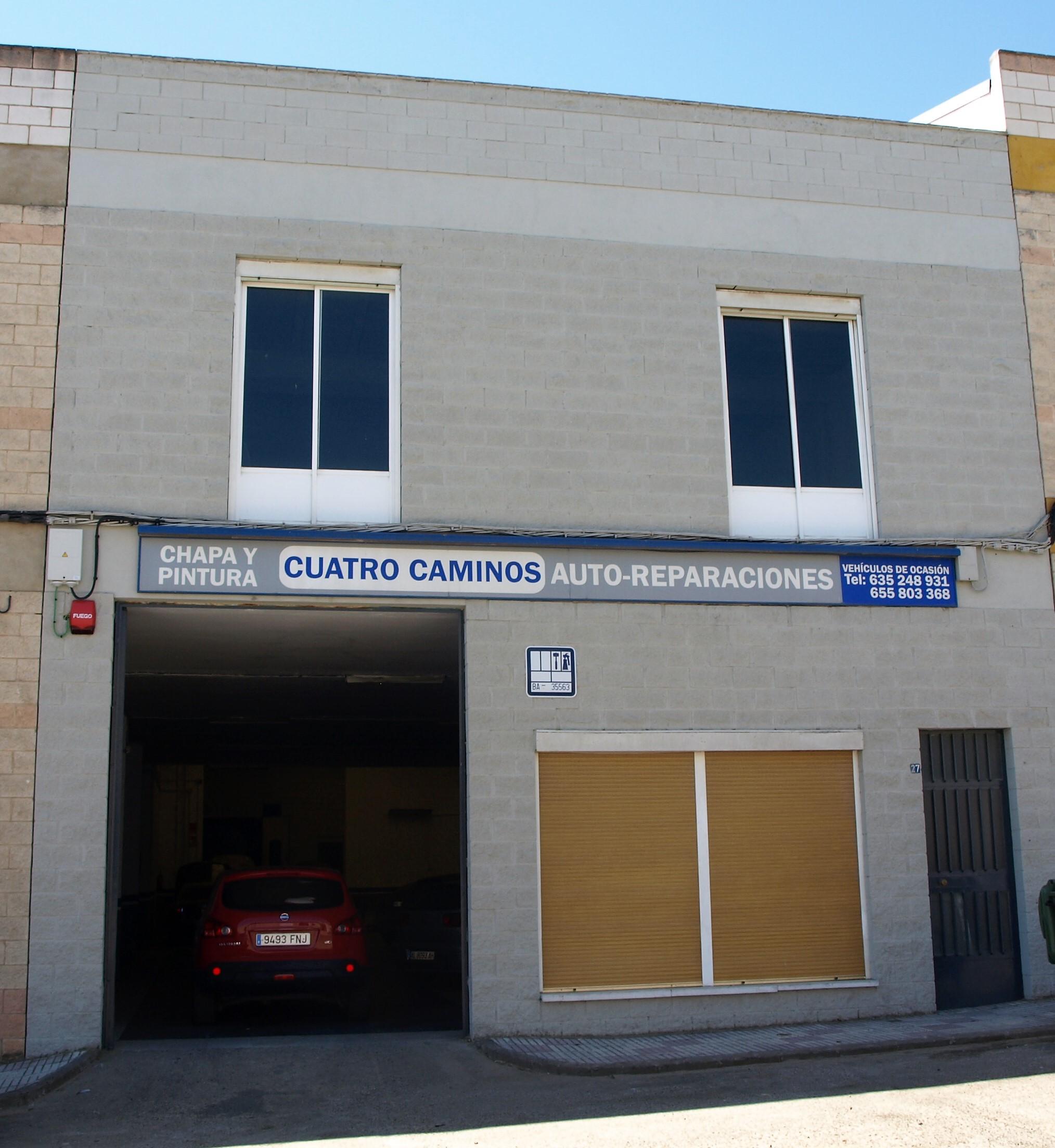 ESPAÑA TALLER CHAPA Y PINTURA DON BENITO CUATROCAMINOS