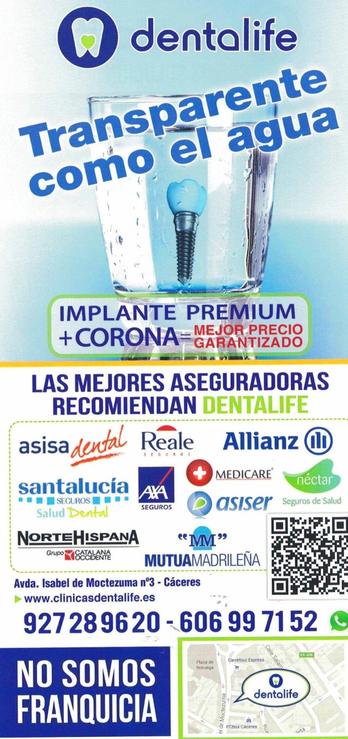 Dentista en Cáceres Dentalife