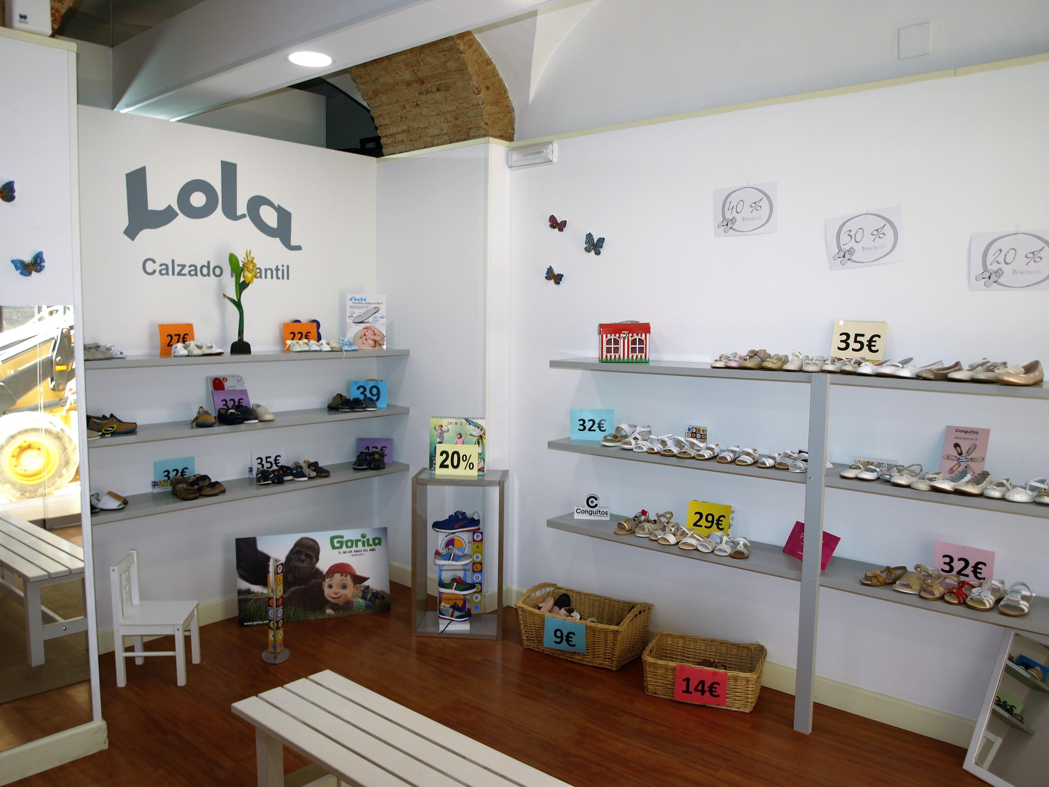 España Lola Zapateria infantil en Zafra