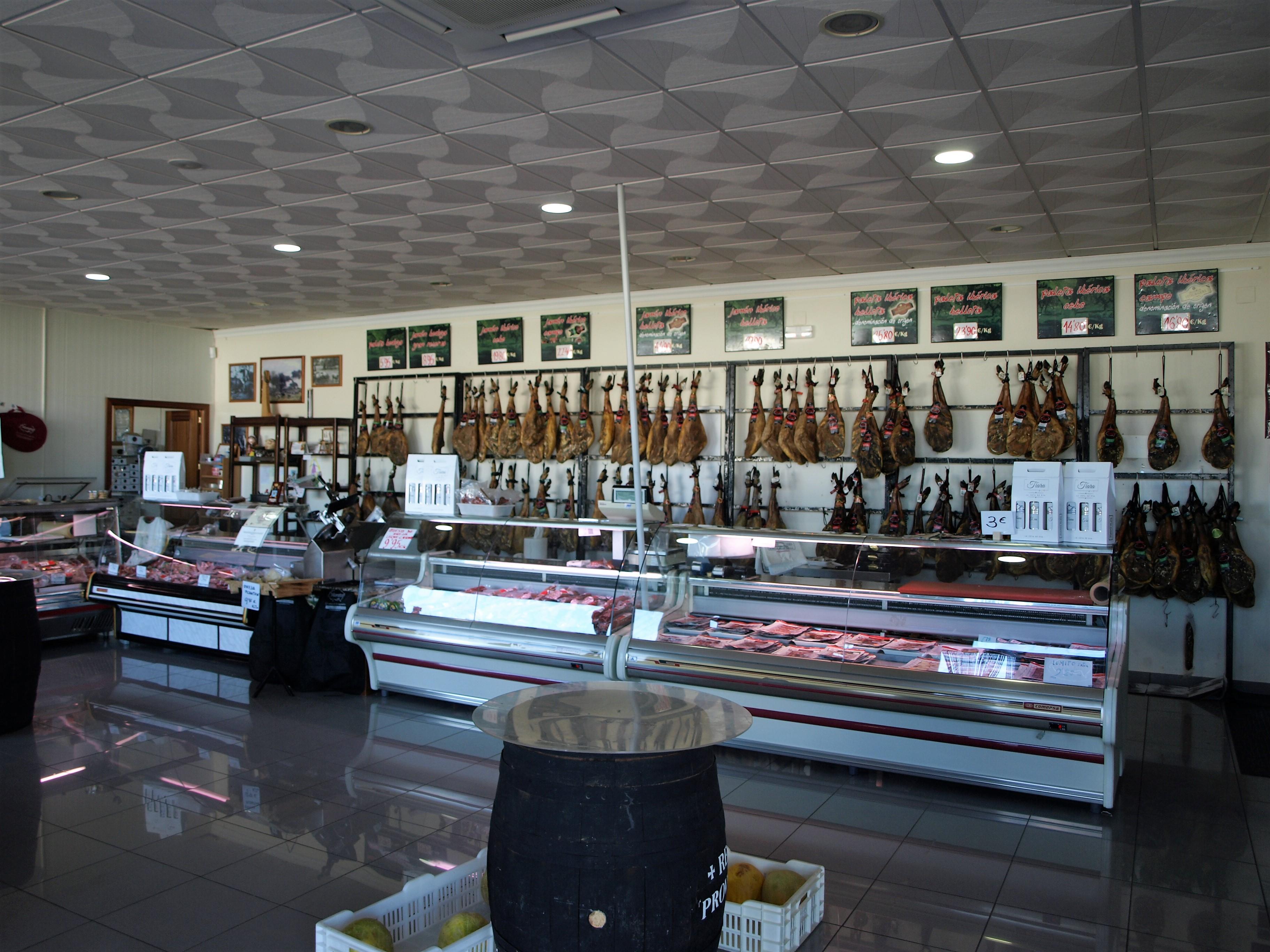 España - Fábrica y distribución de jamones y embutidos de Extremadura Morato
