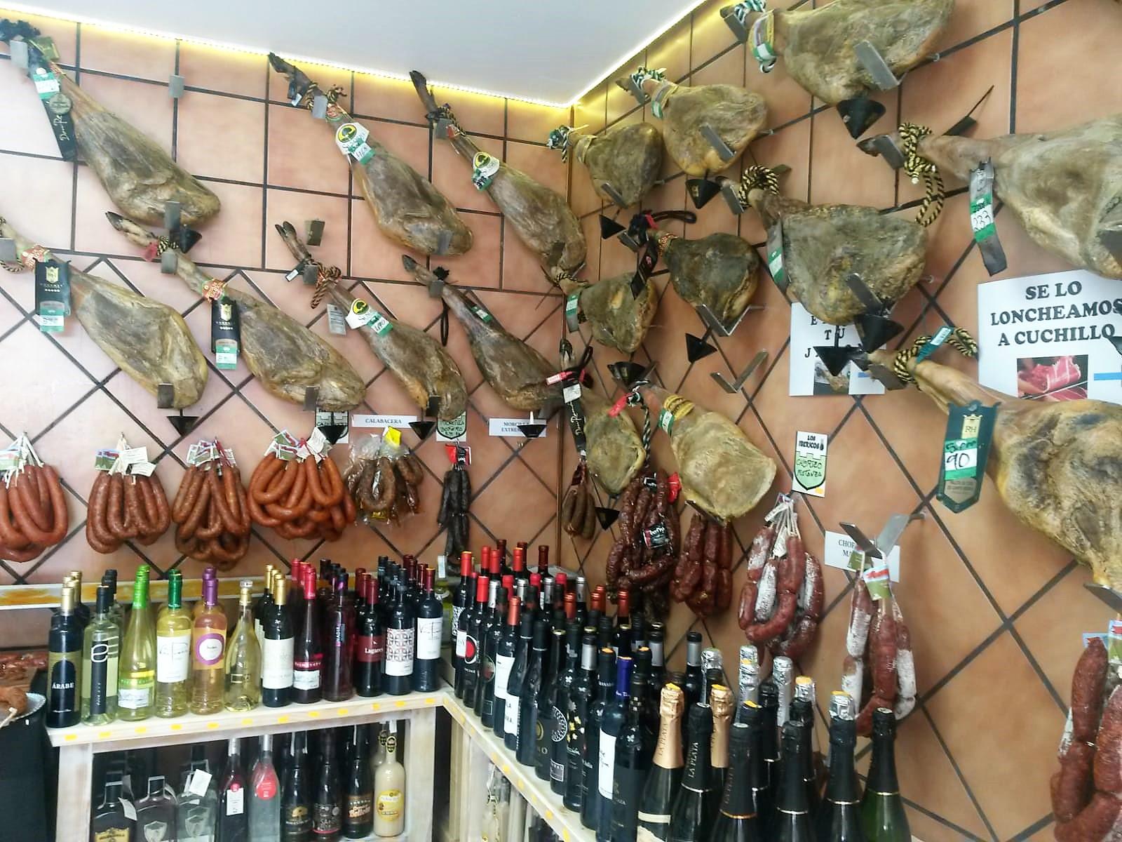 Cáceres productos Extremeños Los Ibericos