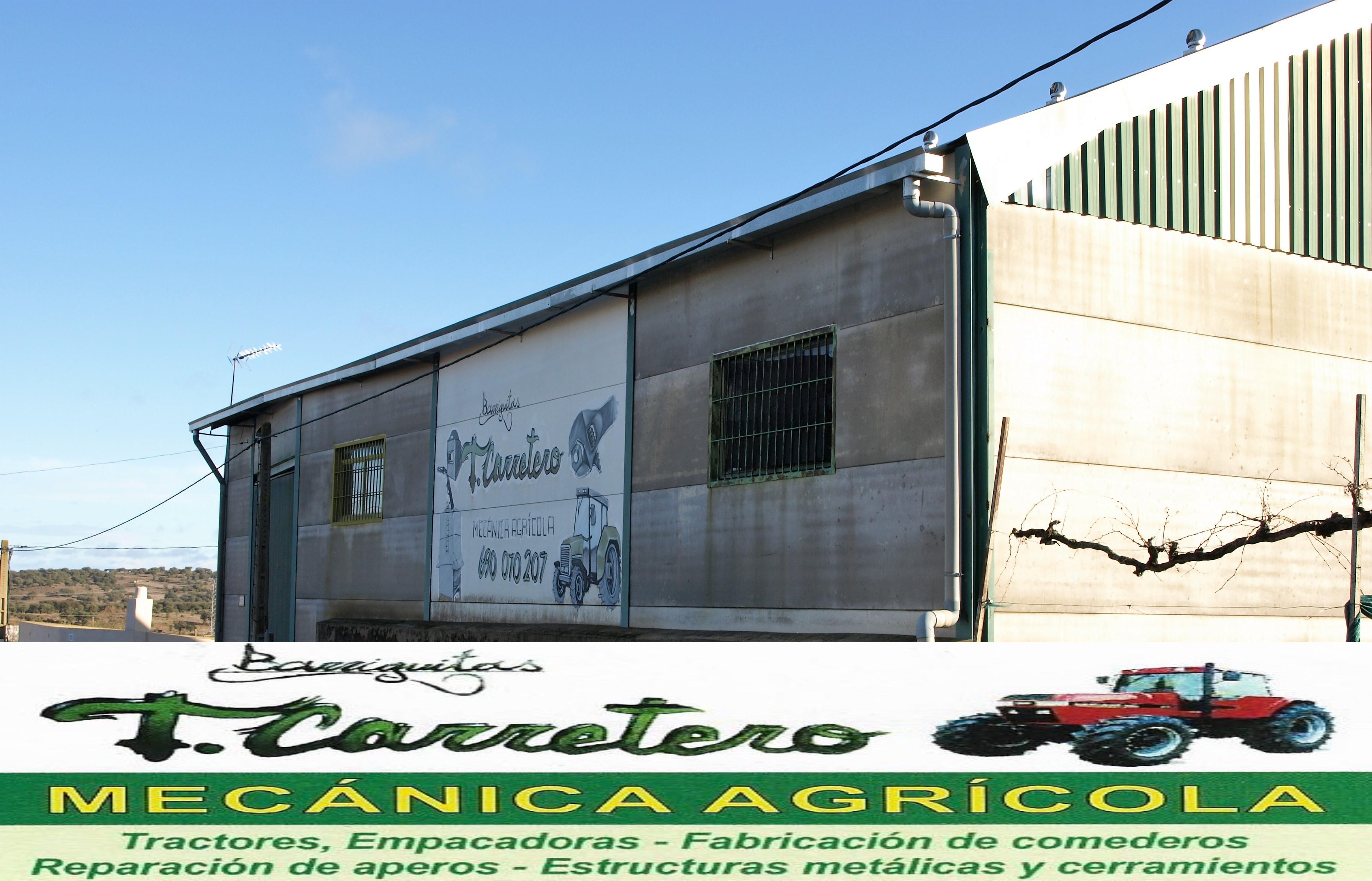ESPAÑA TALLER MECANICA AGRICOLA ESTRUCTURAS CACERES CARRETERO POLIGONO GANADERO