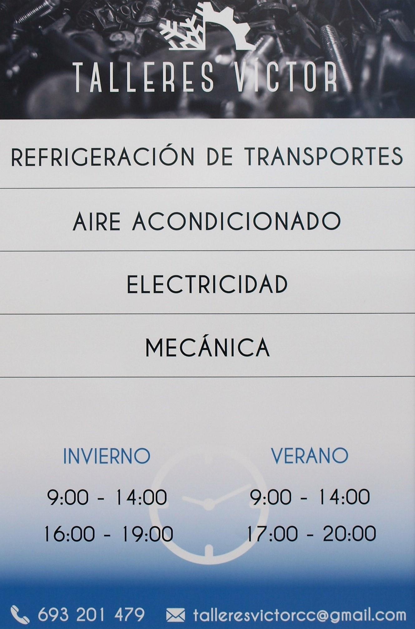 España Taller de mecánica general y refrigeración de transportes Cáceres Victor