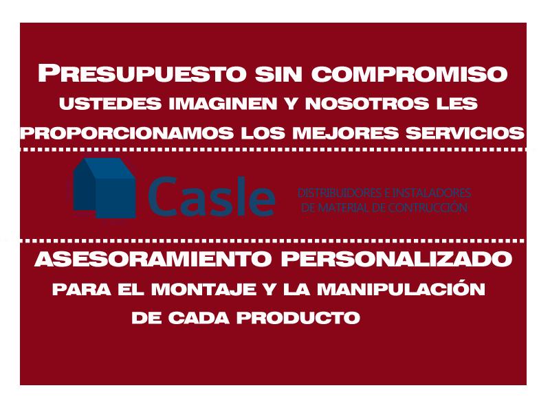 Almacén España aislamientos Casle Extremadura