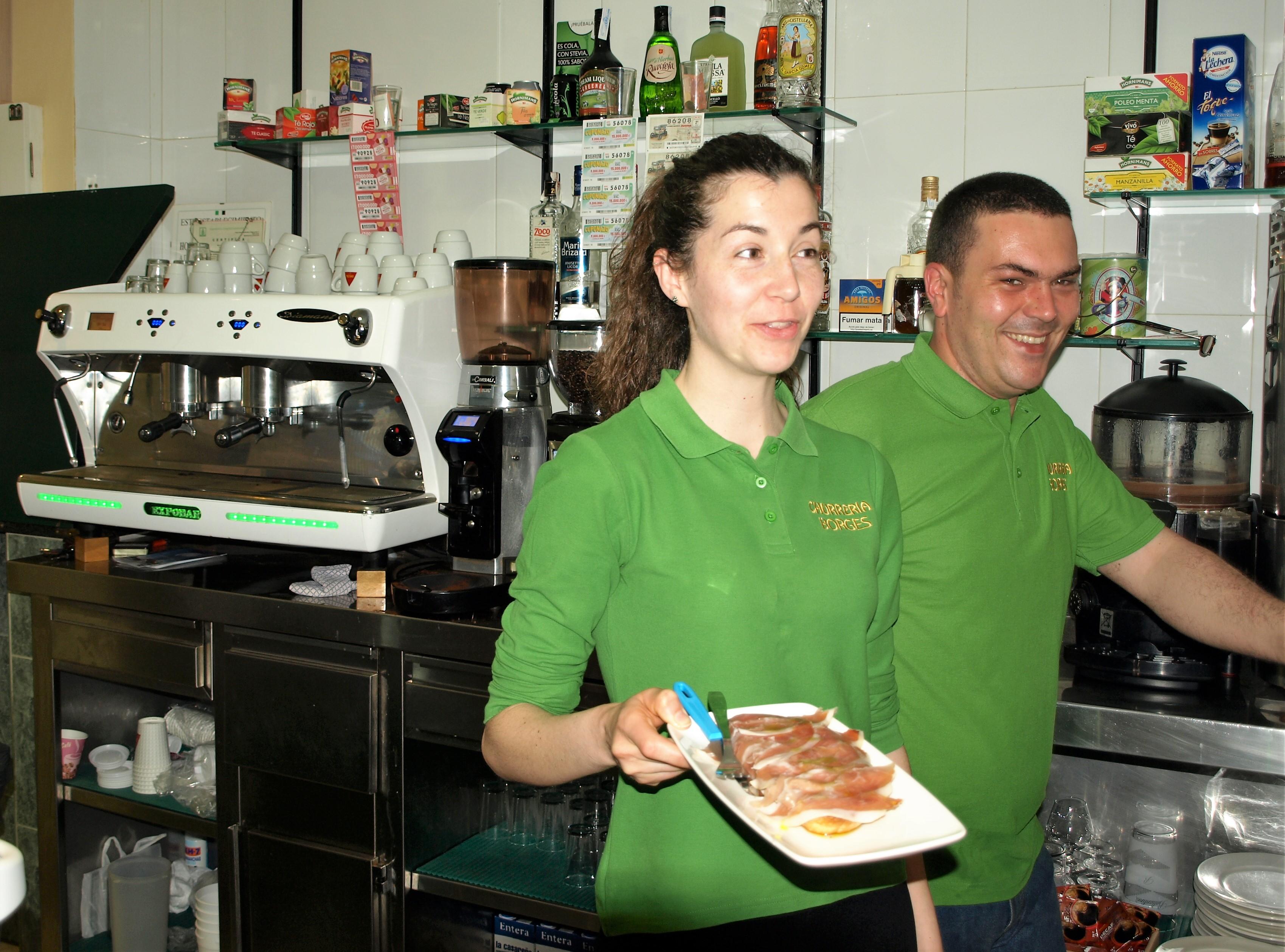 España churrería Casar de Cáceres Borges