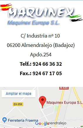 Ferretería industrial España Maquinex