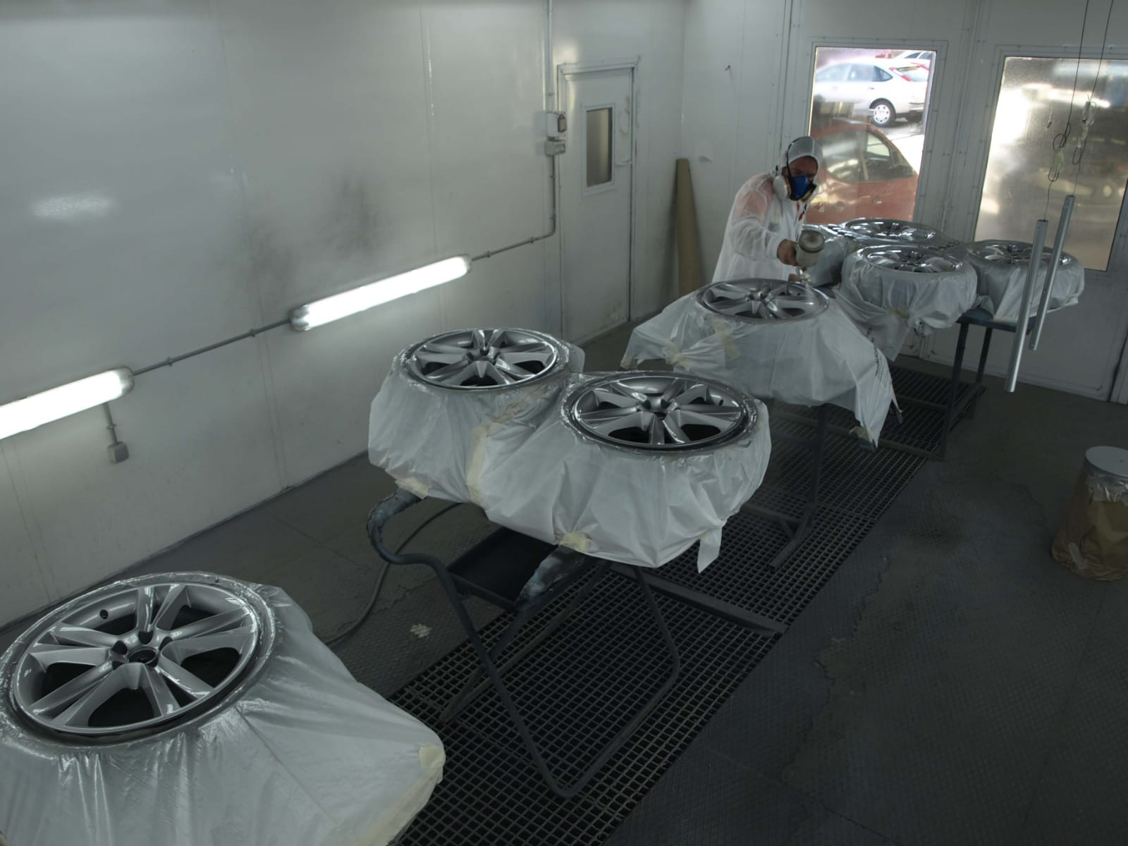 Chapa y pintura en Cáceres Autocarrocerias Extremadura