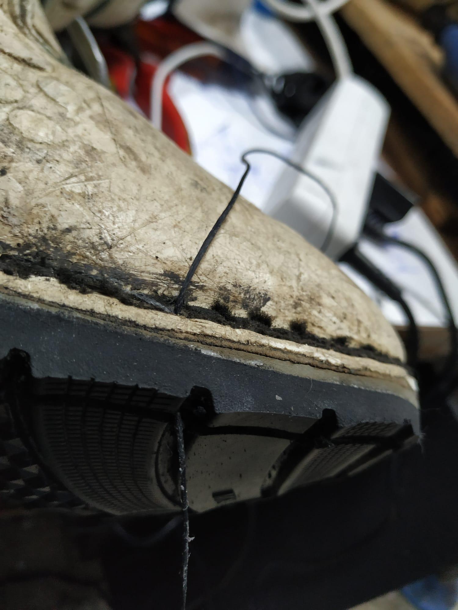 Arreglar suelas de moteros en Cáceres SUELA FIGHTER zapatorapid