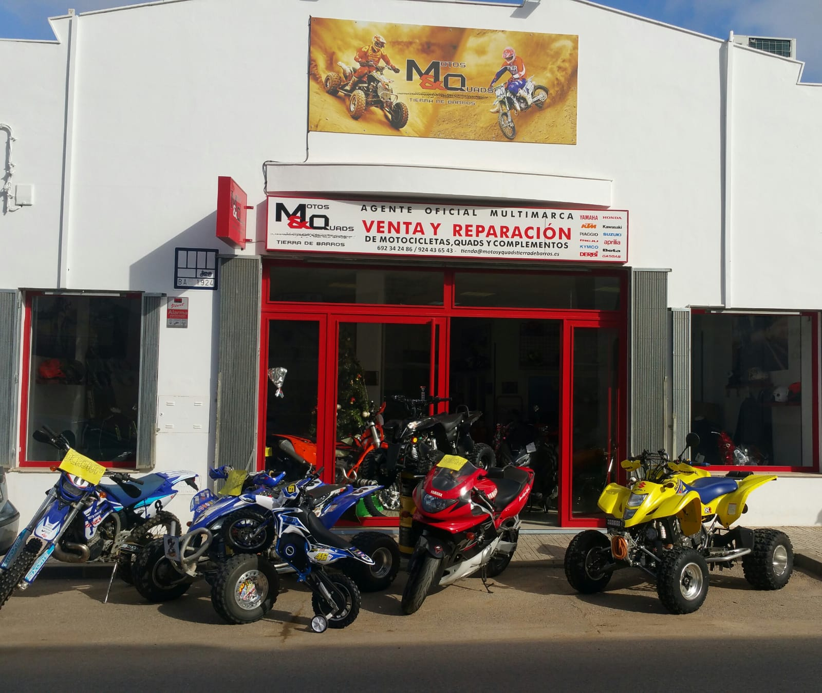 España Taller de motos en Almendralejo Quads Mq