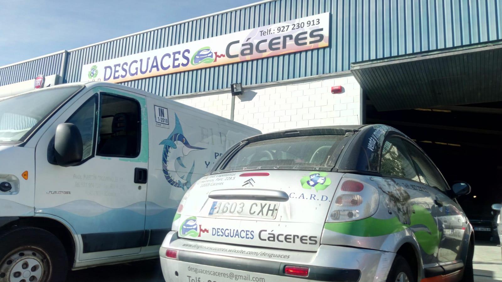 Desguaces en España Desguace Cáceres