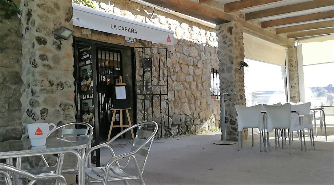 España Restaurante Mesón Carretera Cáceres Badajoz La Cabaña