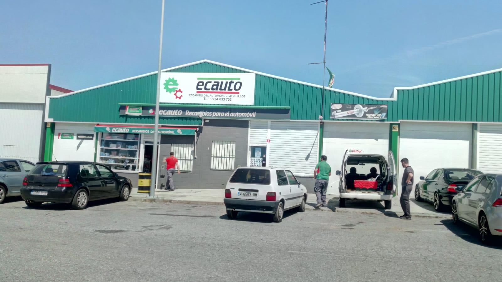 RECAMBIOS DEL AUTOMÓVIL EN MONESTERIO - ECAUTO