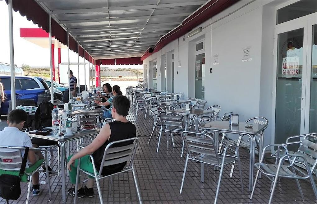 España Restaurantes 24h Area de descanso A66 Ruta de la Plata Los Llanos de Extremadura