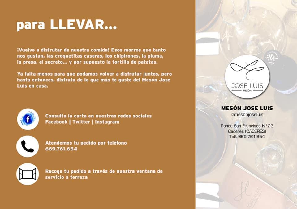 Donde Comer Hospital San Pedro De Alcántara Juzgados de Cáceres Mesón José Luis